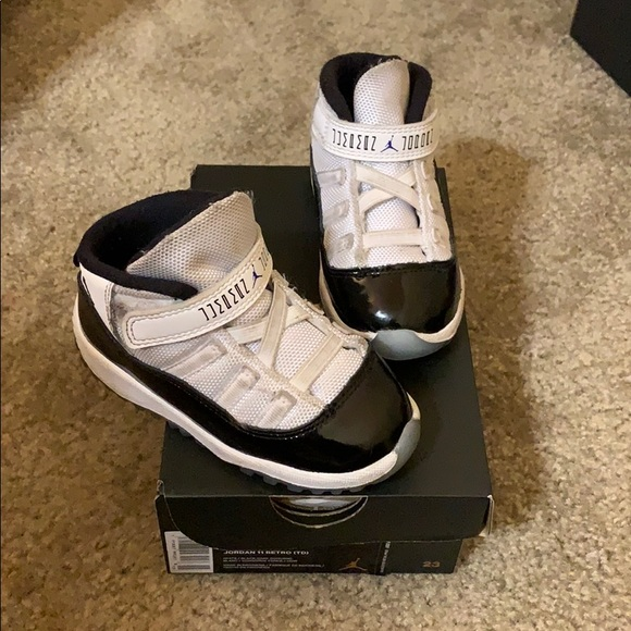 the latest a2b18 ffccb Toddler Jordan 11 Concord